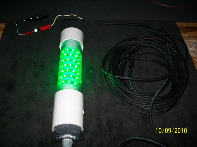 Submersible green led fishing lights for Submersible fishing light